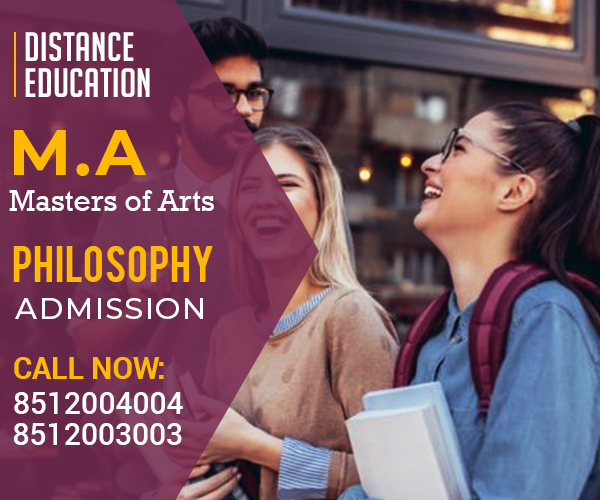 MA Philosophy Masters Degree Distance learning Education admission